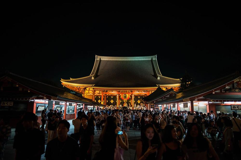 Sennjoi Temple in Tokyo, Japan