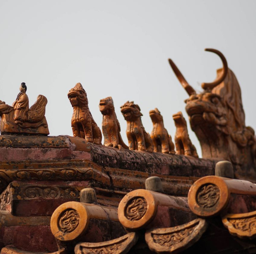 Chinese Roof ornaments