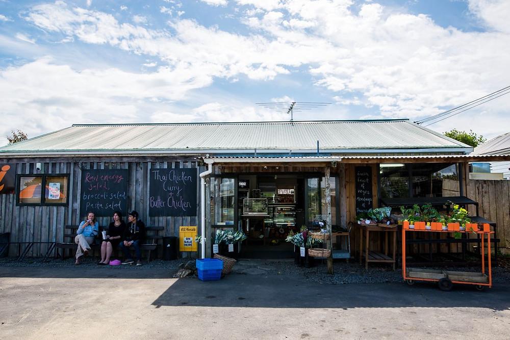 Farmer's co-op shop down near Clevedon