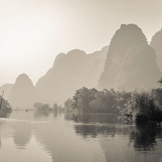 bamboo raft Guilin