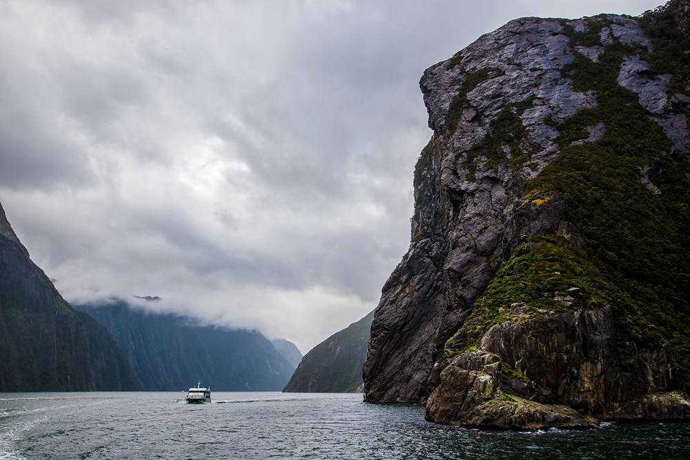 Milford cruise, Milford Sound