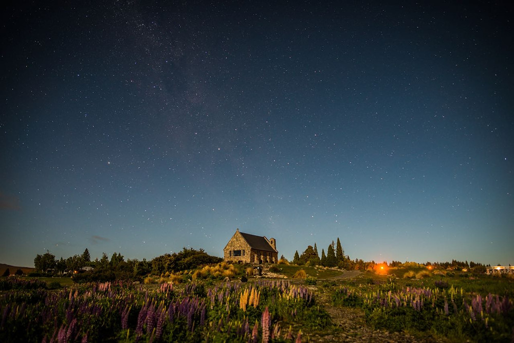 Lake Tekapo, astral photography in New Zealand