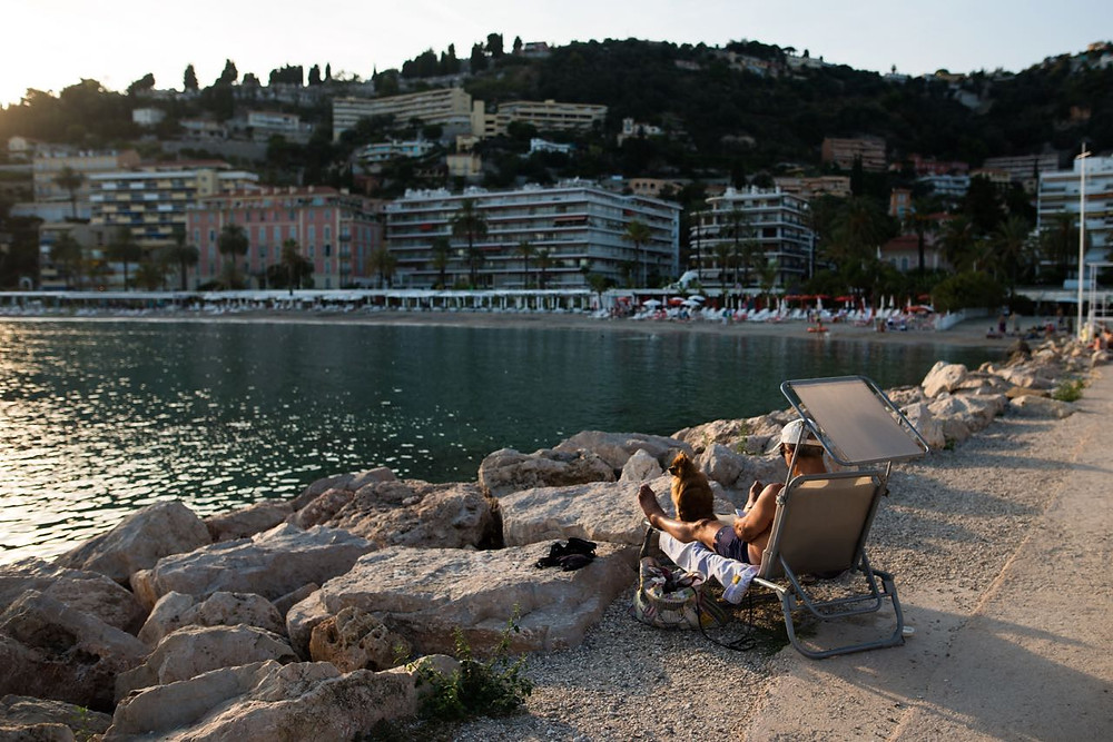 French riviera lifestyle
