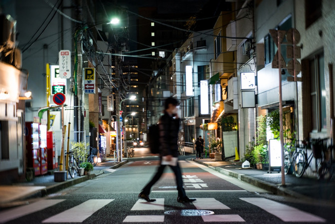 Arrived in Tokyo! Street photography of Azabu Juban