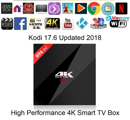 TV BOX LOADED / Kodi / Android Smart TV Box Loaded