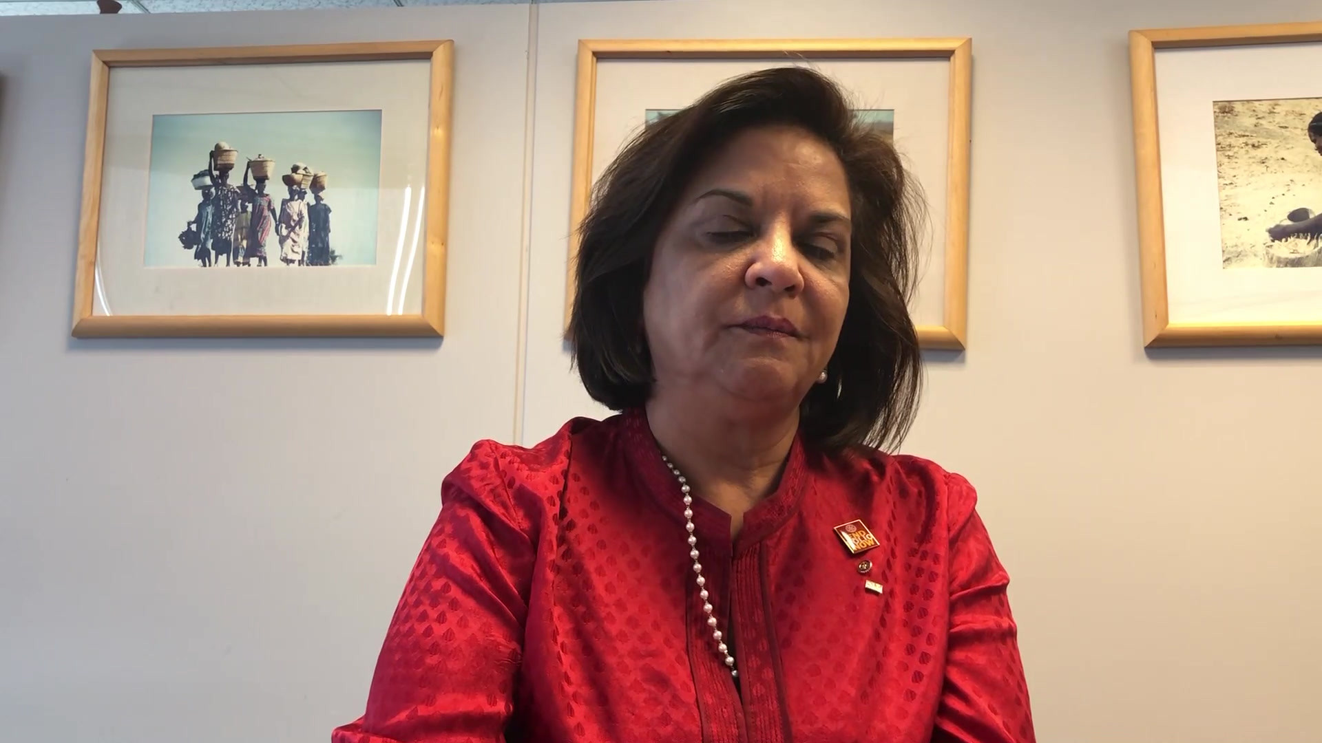 March 2020 - Geeta Manek, Incoming trustee of the Rotary Foundation of Rotary International
