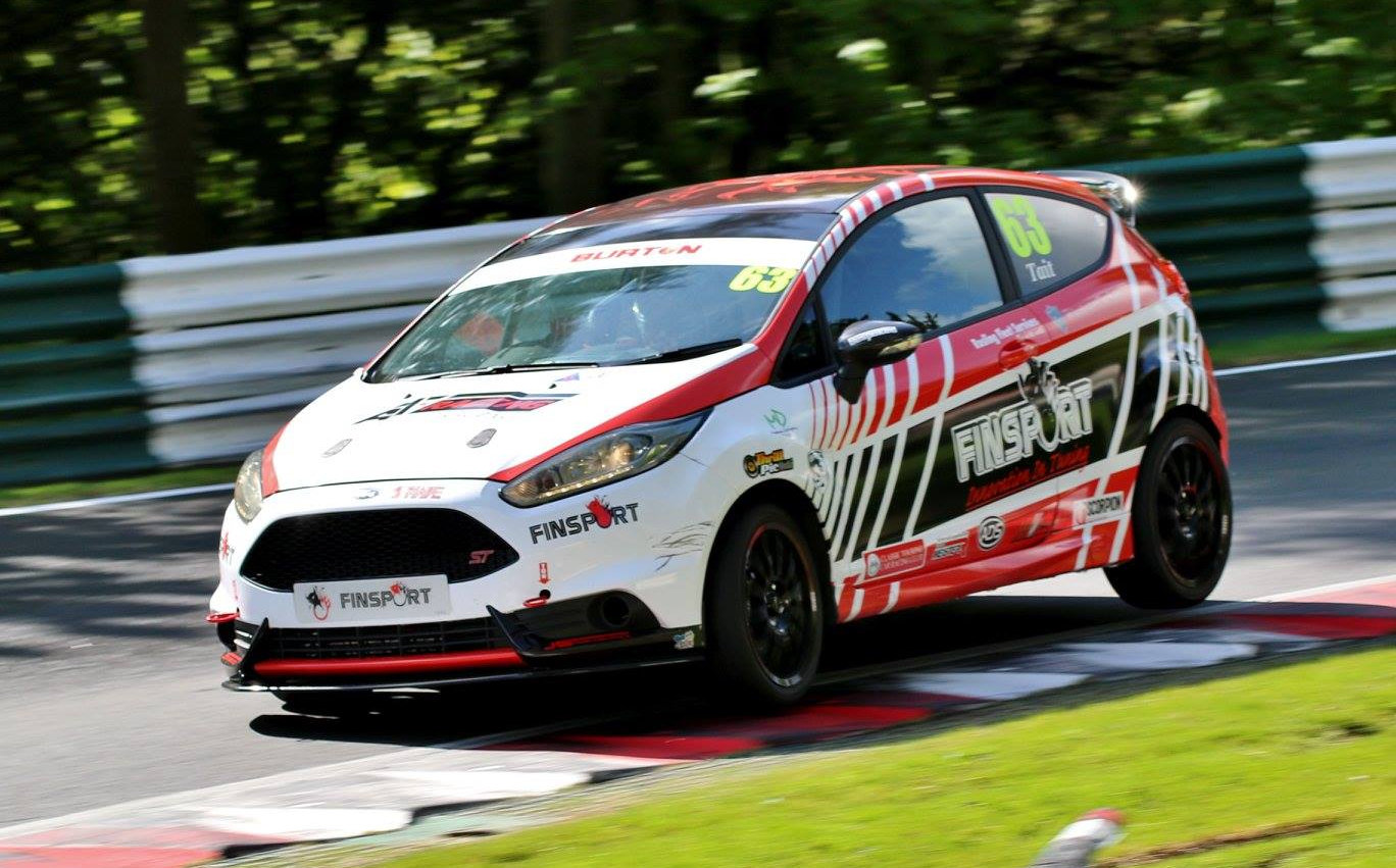 Alex in action at Cadwell Park on his was to his first win