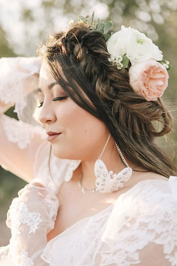 Beautiful flower crown for weddings, bridal showers, and baby showers in Gilbert and the East Valley