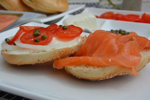 European Style Smoked Salmon (1 lb package)