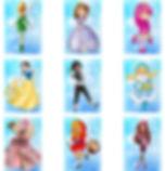Электронные фото карты МАК метафорически ассоциативные карты для работы психолога  Мульт персонита  Девочки,девушки