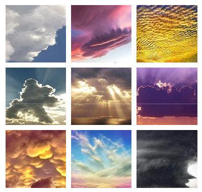 Фотоколода Облака
