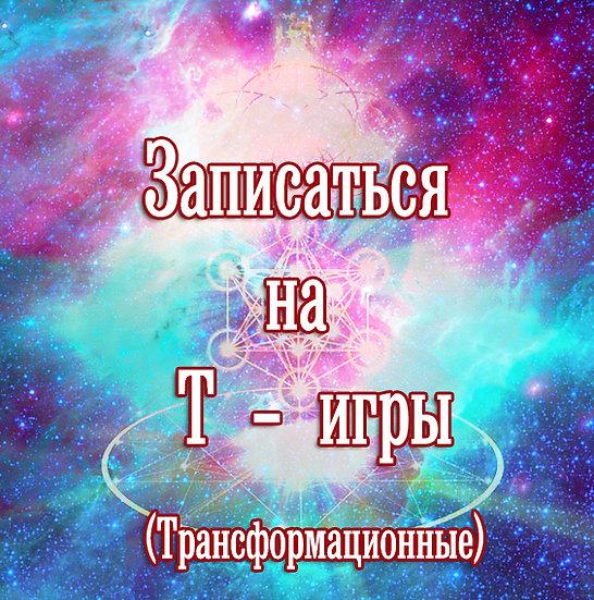 Т- игры