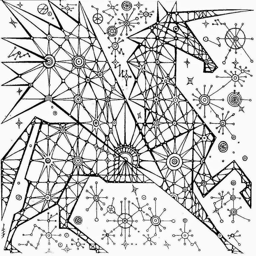 2 Единорог правый - земля, зима.