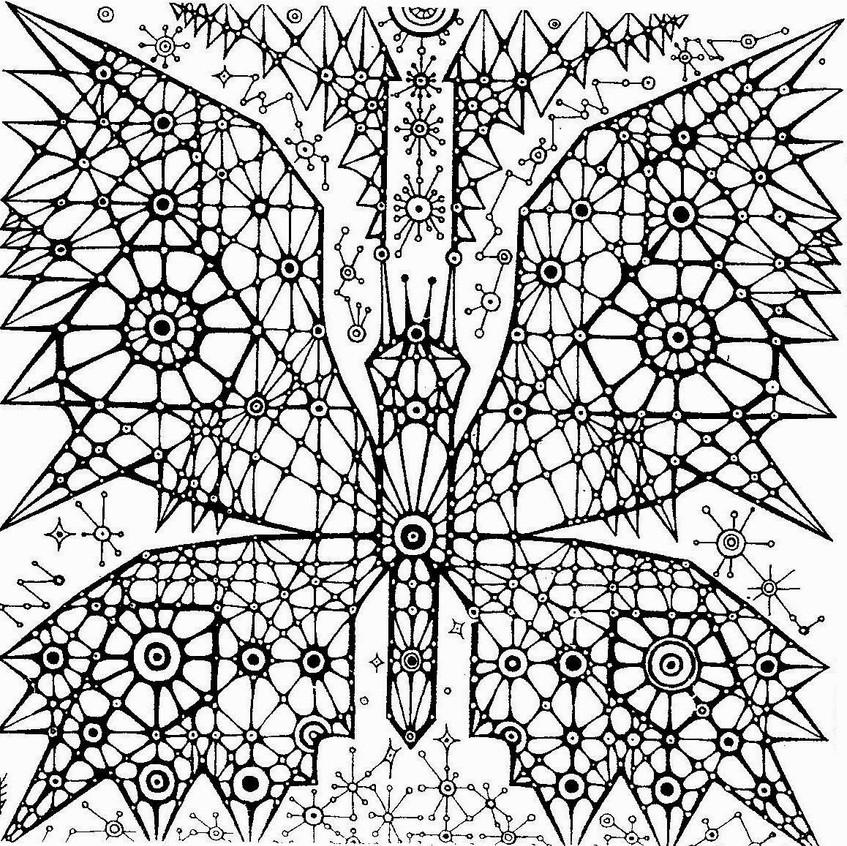 1 Бабочка - небо, центр, динамика.