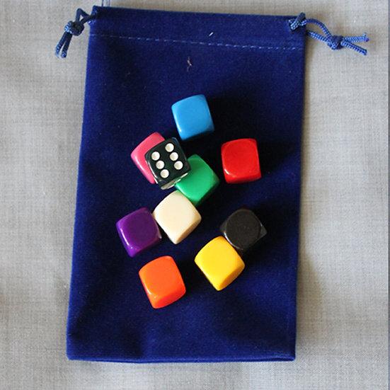Набор для игр:Кубик и фишки игральные