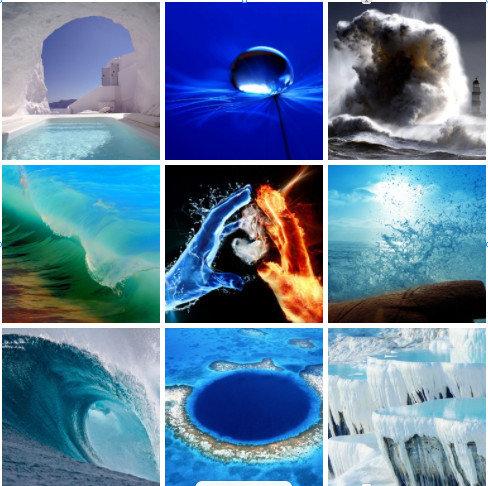 Фотоколода Стихия - Вода