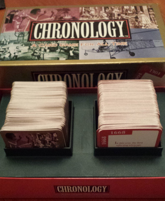 Blog the 27th*: in which I review Chronology and justify why I need all these games.