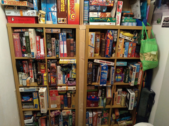 Board Games Hauls and Piles of Shame.