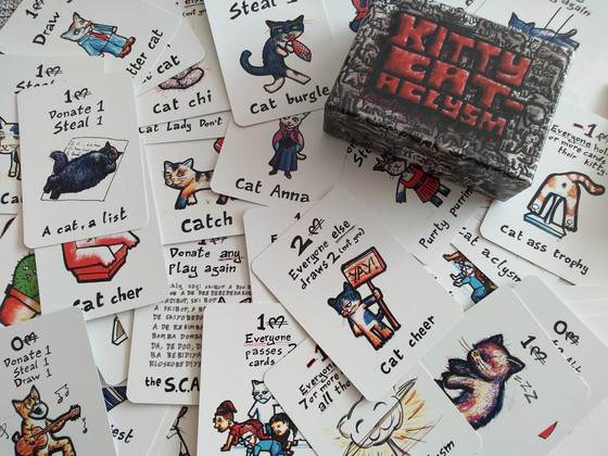 Kitty Cataclysm, Wibbell++ and why it's good to get a parcel from Bez.