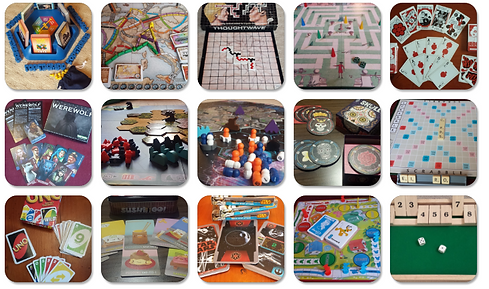 Selection of available Board Games