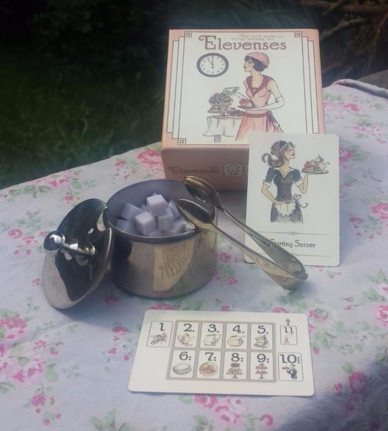 More tea Vicar? Elevenses: the card game of morning tea.