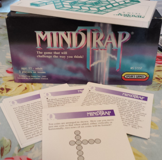 Brain Games - come and have a go if you think they're hard enough!