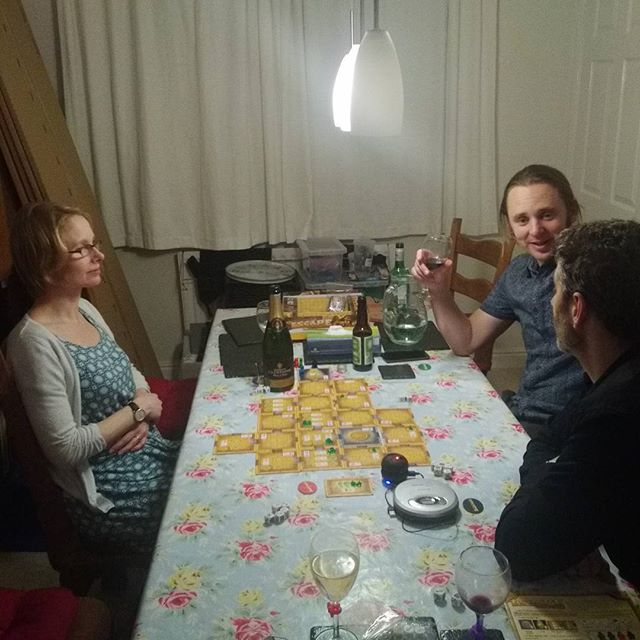 #cardsordie bit of escape on New Year's Eve