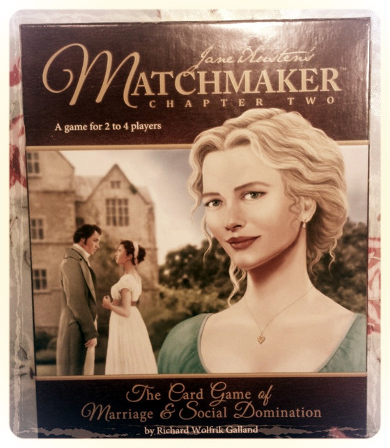 Matchmaker: Pride and Prejudice meets Five Card Stud.