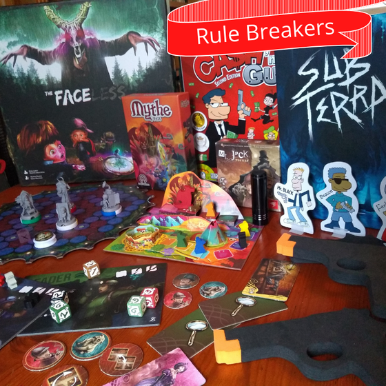 Rule Breakers - Games Jam Inspiration