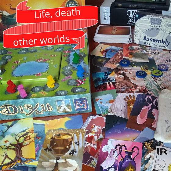 Life, Death and Other Worlds - Games Jam Inspiration.