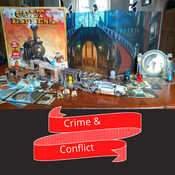 Crime and Conflict: Games Jam Inspiration