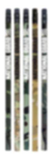Custom Camo Pencils