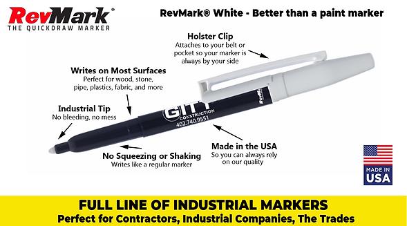 RevMark White Marker