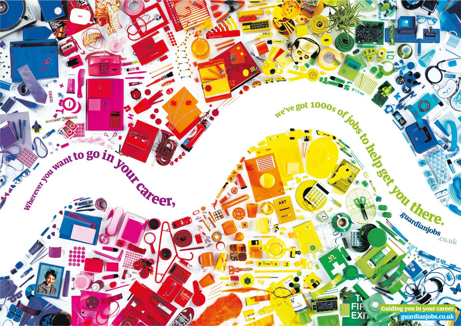 Guardian Jobs - Colours