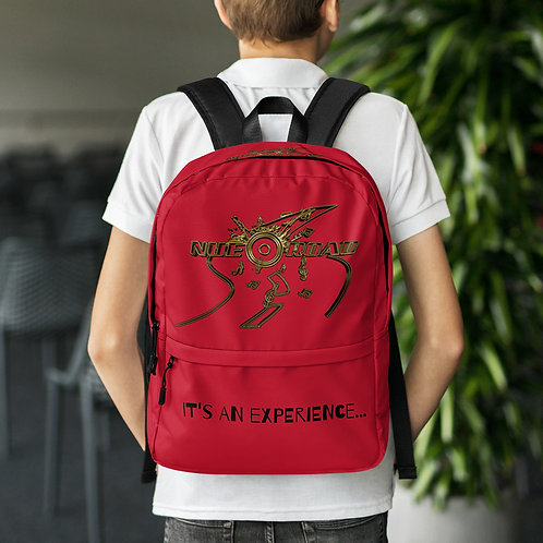 Nue Road Backpack- Red