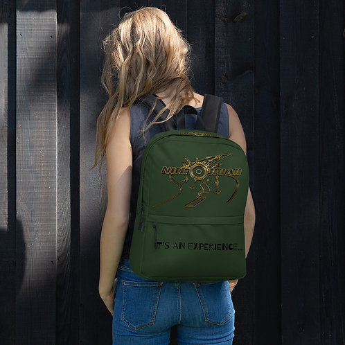 Nue Road Backpack- Army Green