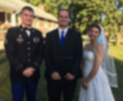 Blake Hocking Wedding Officiant