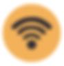 Telecommuniation and Wifi Logo