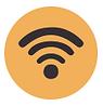 Telecommunication and Wifi Logo
