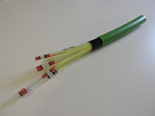 Optic fiber cnduit