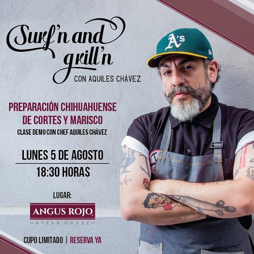 Clase Demo con Chef Aquiles Chavez!!