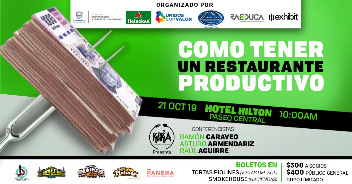 Conferencia Restaurante Productivo