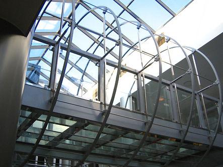 manufacturing of glass bridges