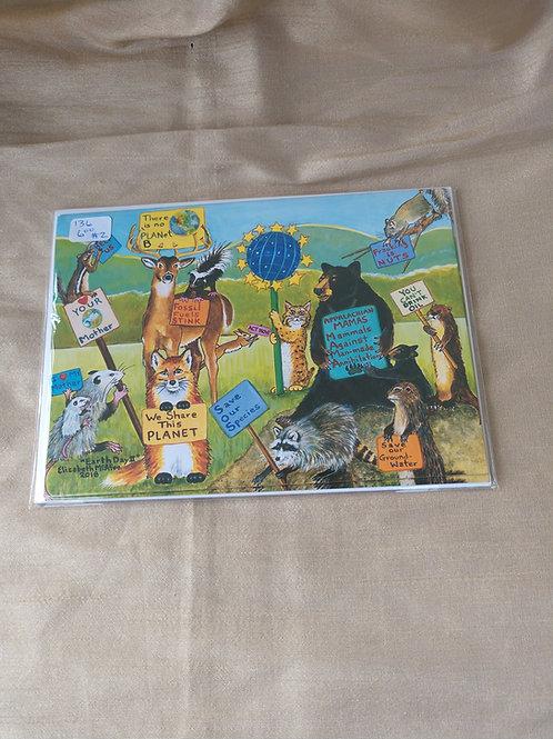McAfee  Earth Day II Card set of 4