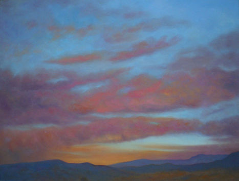 Dreaming in the Mountains 30x40 oil $900