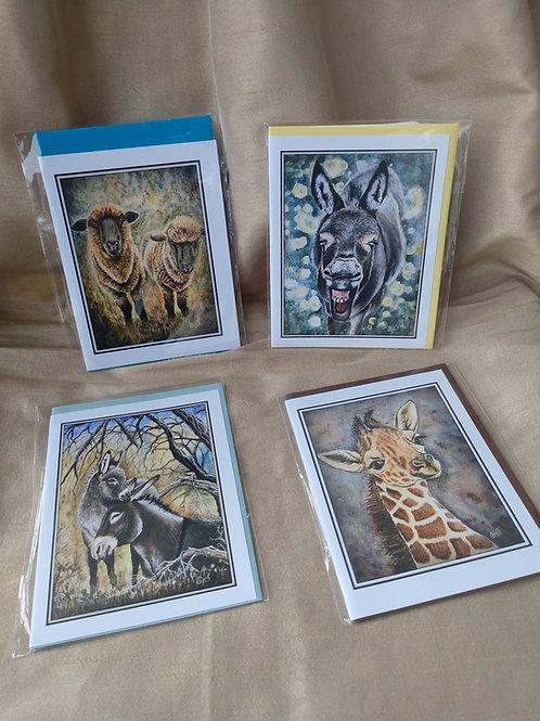 Animal Card Set By Christine