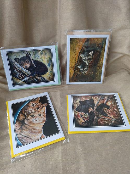 Animal Card Set #2 By Christine