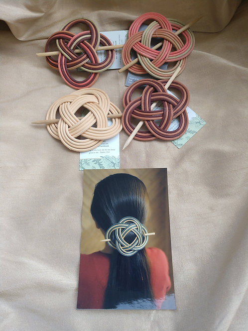Handwoven Hair Barrettes