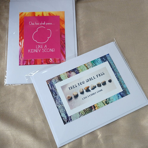 This to Shall Pass card set