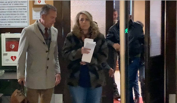 Attorney: former Muenster teach pleads guilty, is 'ashamed' sexual relations with students Lynn Burge photo with rick hagen